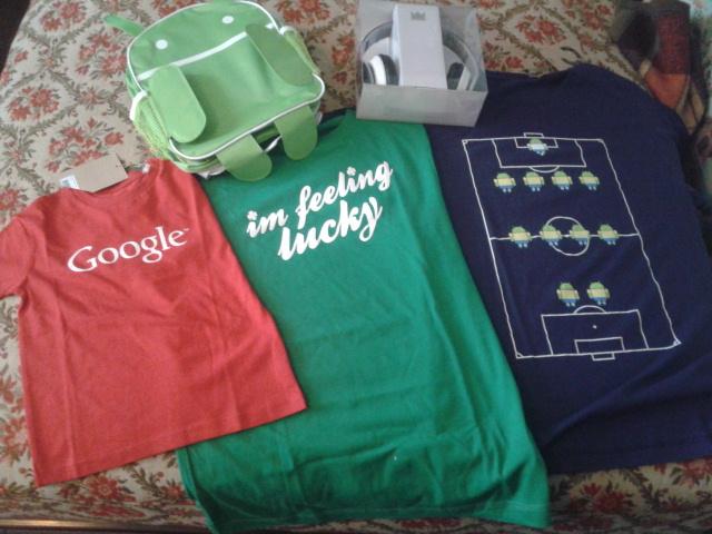 Koszulki Google