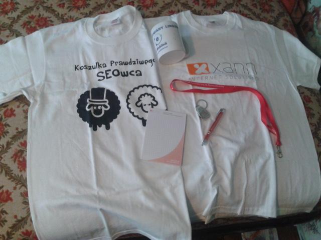 Koszulka SEO-wca i inne prezenty od XANN