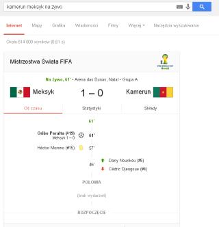 kamerun meksyk na zywo   Szukaj w Google