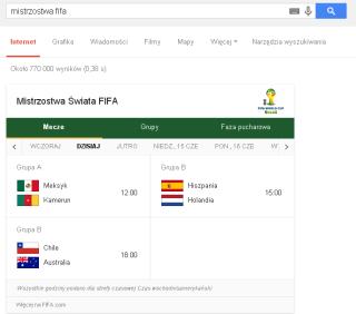 mistrzostwa fifa   Szukaj w Google