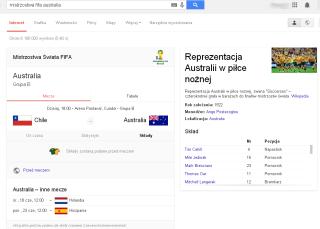 mistrzostwa fifa australia   Szukaj w Google