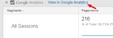 Przejście do Google Analytics