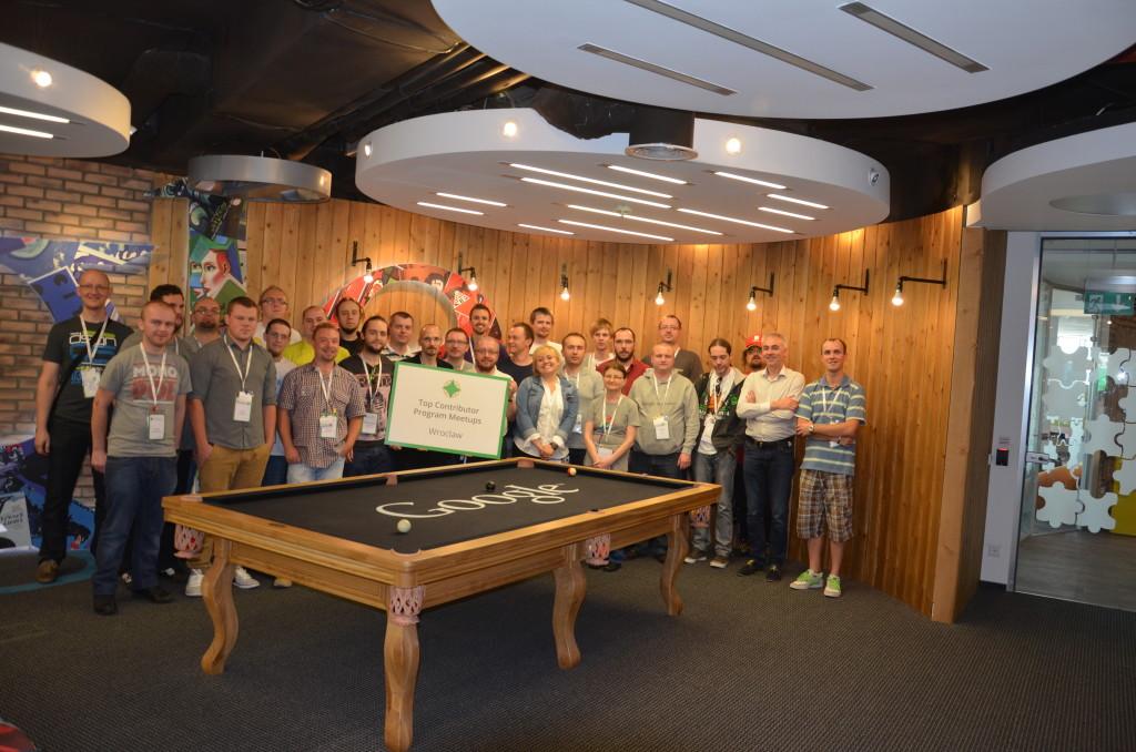 Lokalny zjazd Najlepszych Współtwórców Google