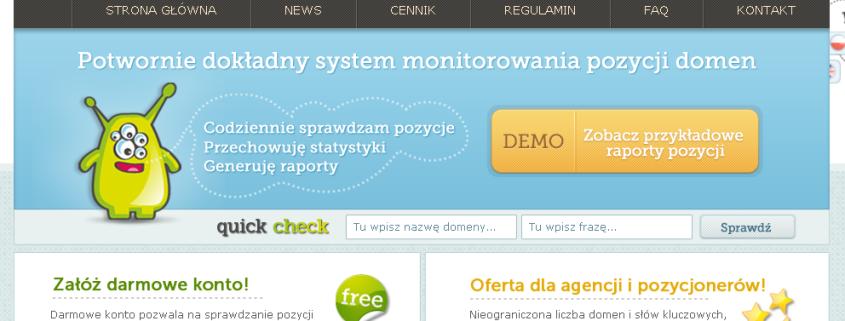SerpMonster - potwornie dokładny system monitorowania pozycji