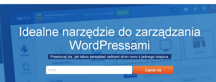 WPDASH - wszystkie wordpressy w jednym miejscu