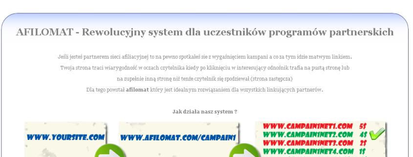 AFILOMAT   automatyczny system aktualizacji odnośników