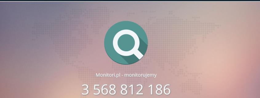 monitori monitorowanie internetu
